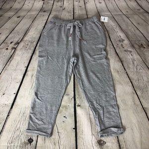 NWT Gray Free People Game Plan Sweatpants